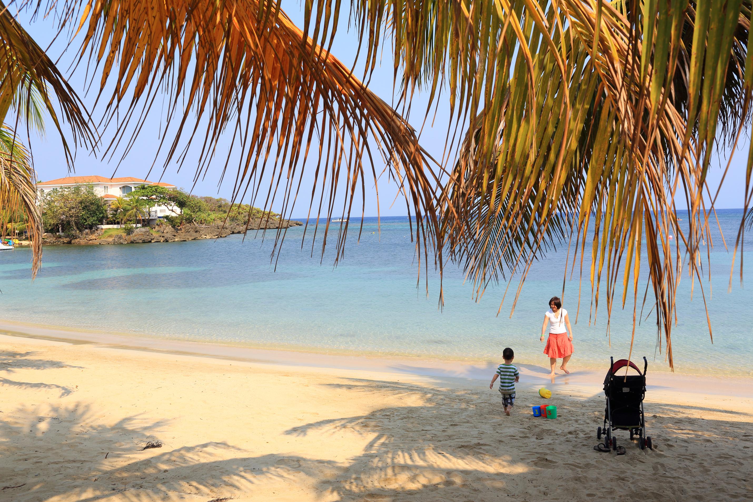 Aruba met kids