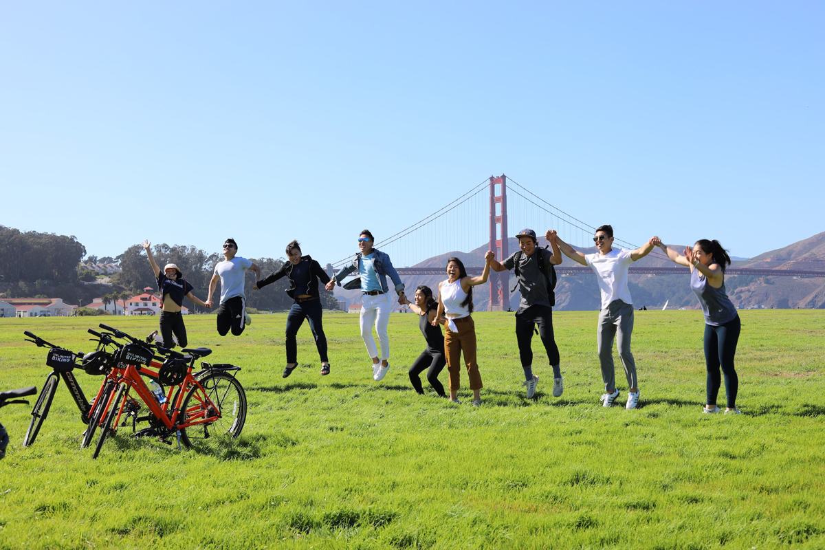 Unlimited Biking in San Francisco